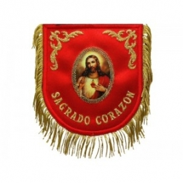MANTOLÍN MINIATURA SAGRADO CORAZÓN DE JESÚS